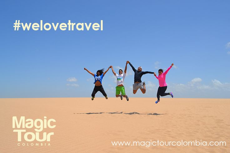 Equipo oficina Magic Tour Colombia!  #travel #adventure #culture #welovetravel #desert #beaches #guajira #colombia