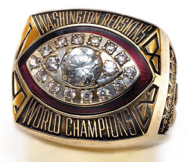 Washington Redskins - Super Bowl XVII, 1983 - Super Bowl Rings ...