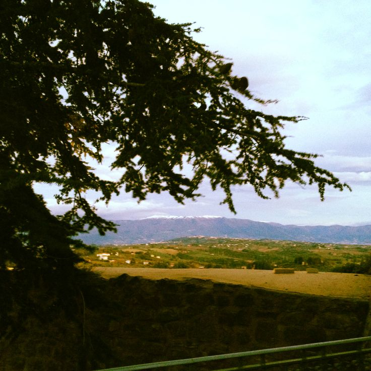 Landscape form #GualdoCattaneo #Umbria