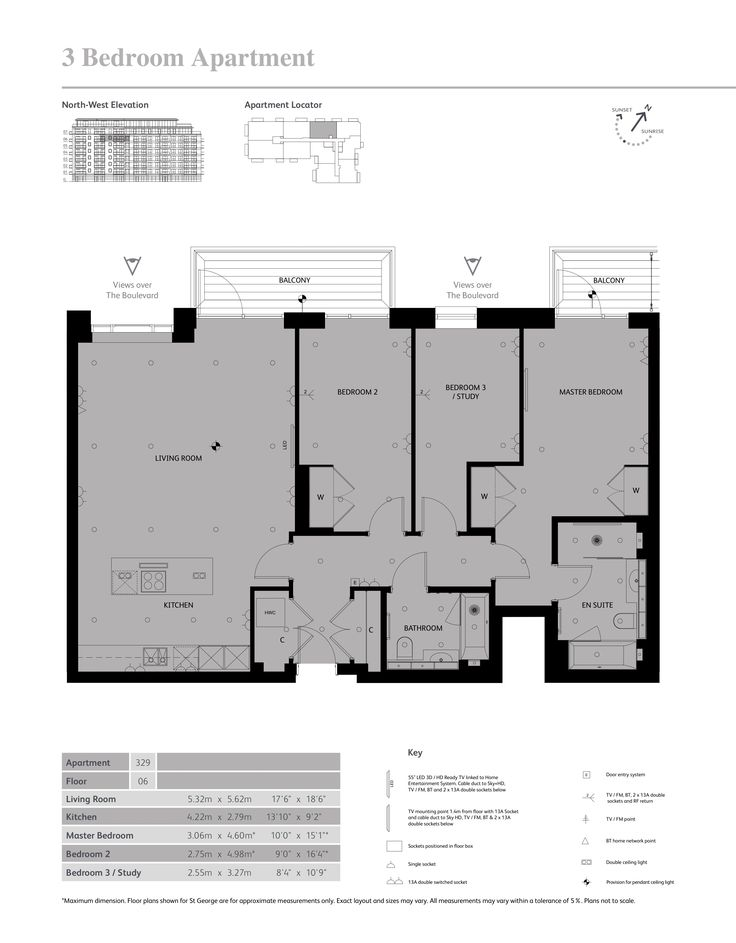 Faulkner House Fulham Reach Floor Plans - W6, Hammersmith and Fulham, London