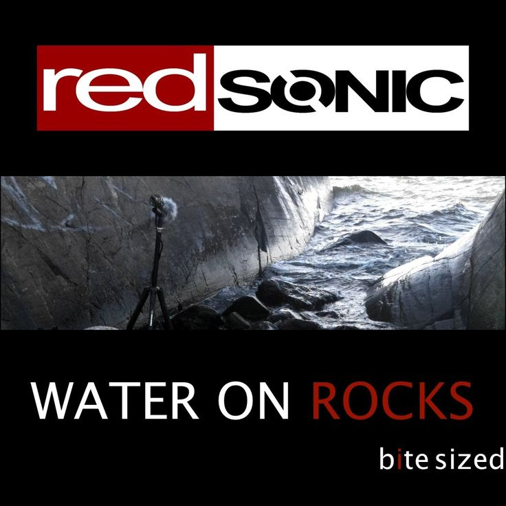 Water on Rocks Sound Effects library: http://www.asoundeffect.com/sound-library/water-on-rocks/