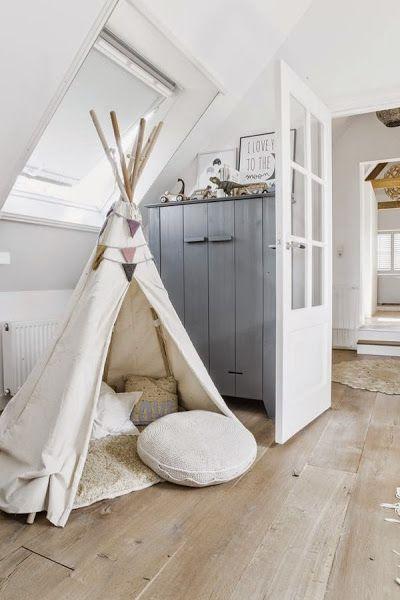 Inspiración TIPIS BLANCOS para niños y DIY para hacerte uno! | Decorar tu casa es facilisimo.com