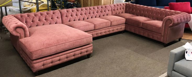 KENZIE STYLE ! Custom CHESTERFIELD dream sofa or sectional. Leather or fabric. Ships Nationwide. Showrooms in Los Angeles, Orange County, Bay Area, Portland, Dallas. MONARCHSOFAS.COM we create the best custom sofa or best custom sectional for you!