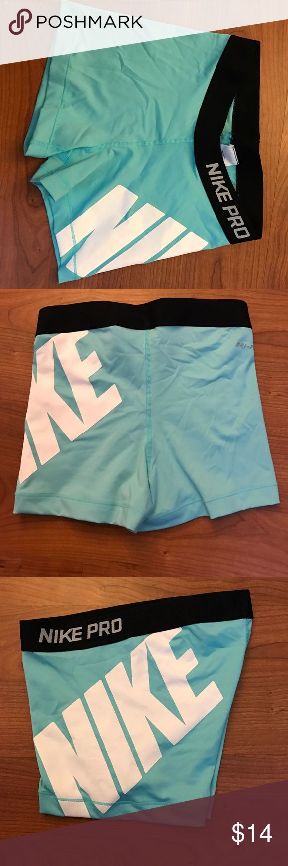 Training shorts Cool women Training shorts.. Excellent condition. The color is Turquoise. Haven't been used Nike Shorts