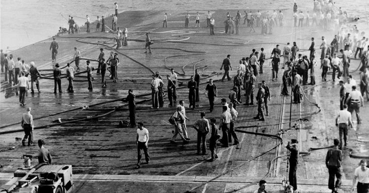 A Tragic Accident Onboard The USS Oriskany Cost Many Lives – Without An Enemy Ship In Sight