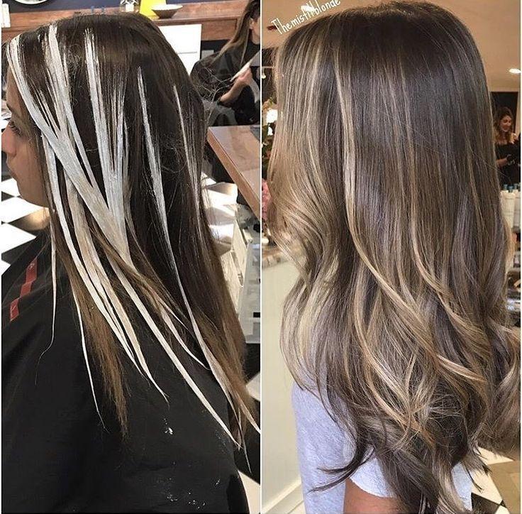 Pin by nathalie on blond cendr pinterest hair - Balayage blond cendre ...