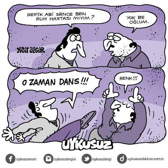 Yiğit Özgür; Ruh hali  :)