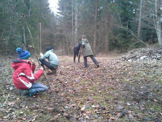 wilde Tage & Camps - Spielraumnatur - Naturmentoring, Kreiskultur, natürlich lernen