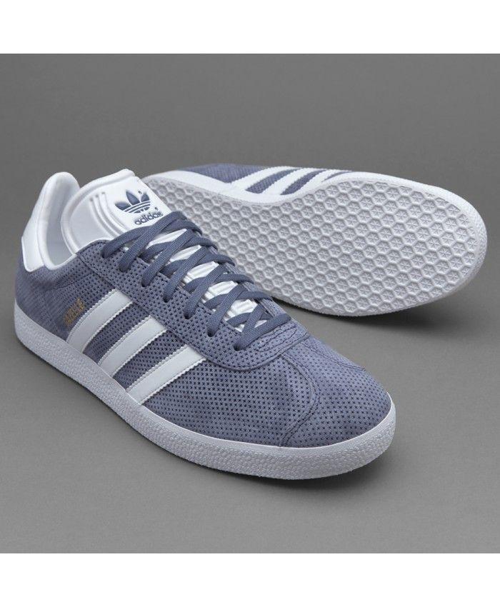 Adidas Gazelle Super Purple White Gold Trainers | adidas