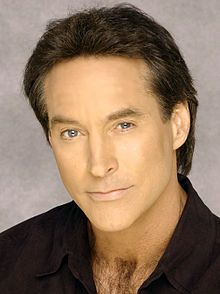 Drake Hogestyn (John Black, of Days of Our Lives).  IMHO, the worst actor in daytime drama.  The facial contortions remind me of those old-time silent film cowboys or villains.