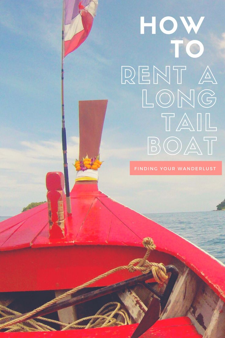 How to Rent a Long Tail Boat
