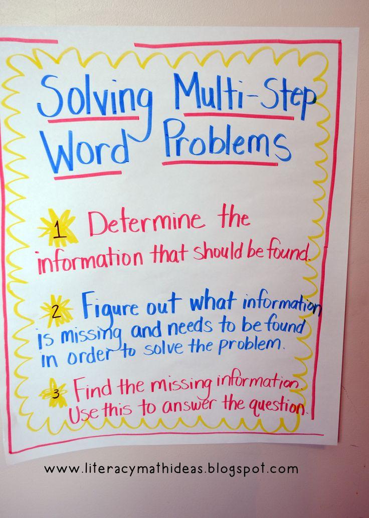 solve a math word problem
