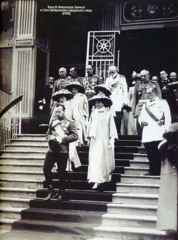 High quality pictures of Nicholas II and his four daughters in 1913 from TatianaZ https://www.flickr.com/photos/99377981@N03/
