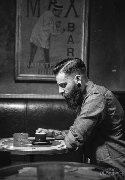 In love with this cut! | fashion | Pinterest | Beard styles, Hair and beard styles and Hair