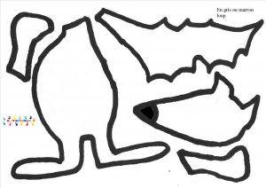 Le petit chaperon rouge : art visuel – MC en maternelle
