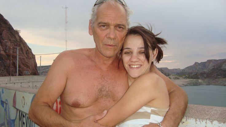 con mi papa en Mendoza