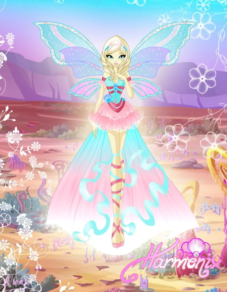 ENG: 1 of 2 commissions ofAntigonia I just liked very much her hairstyle, so I used the same for her Harmonix, hope it's alright Hope you'll like this RUS: 1 из 2 ко&#...