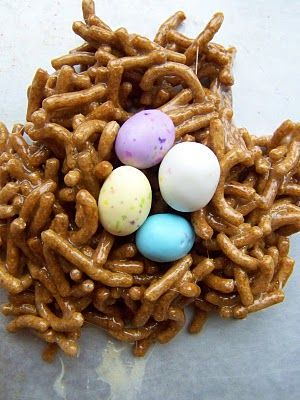 Birds nest treats