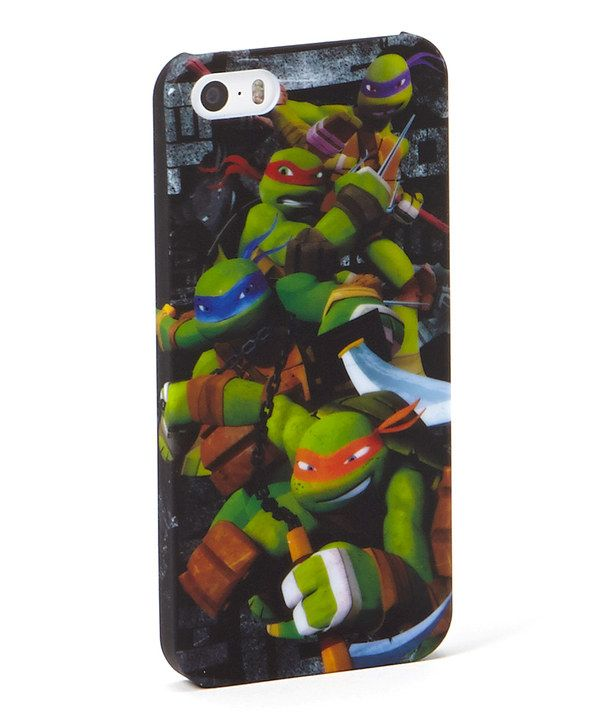 Teenage Mutant Ninja Turtles Case for iPhone 5/5s by Teenage Mutant Ninja Turtles #zulily #zulilyfinds