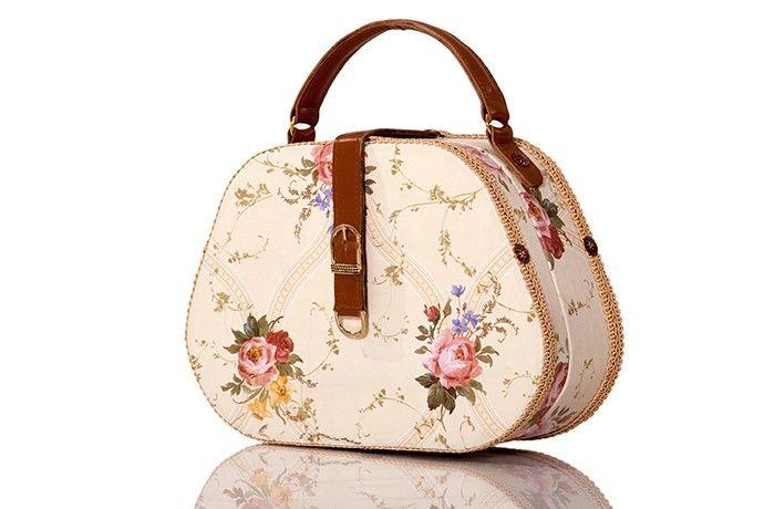 Gademm medium size wood handbag