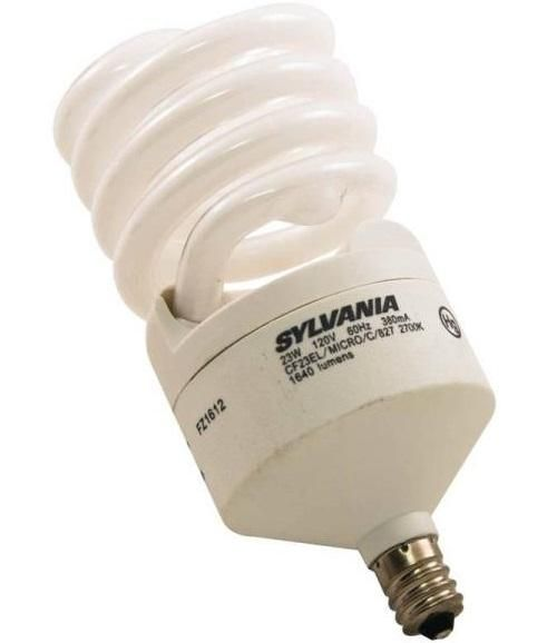 Sylvania 26906 Compact Fluorescent Bulb, 1640 Lumens