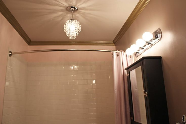 luv the crown molding in this bathroom decor amp craft
