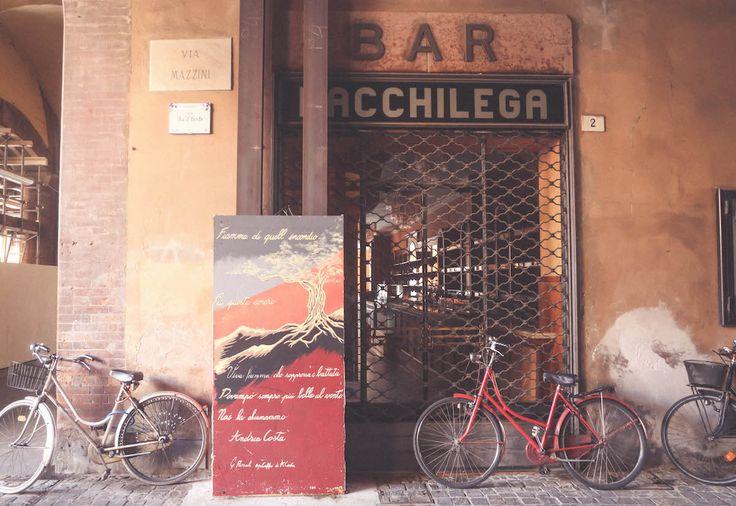 Bar Bacchilega Imola Italy travel