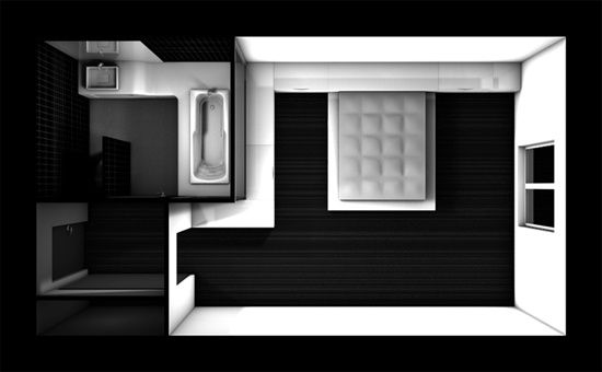 24 best studio 12 m amenagement images on pinterest - Plan amenagement studio 30m2 ...