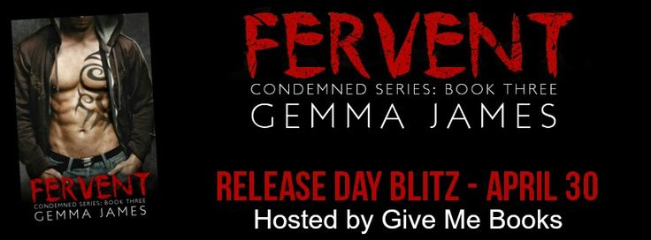 """Books,Chocolate and Lipgloss: ❤❤ RELEASE DAY BLITZ ~~ Fervent By"""" Gemma James ❤❤..."""