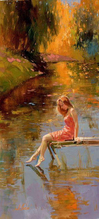 Warm reflections by Irene Sheri