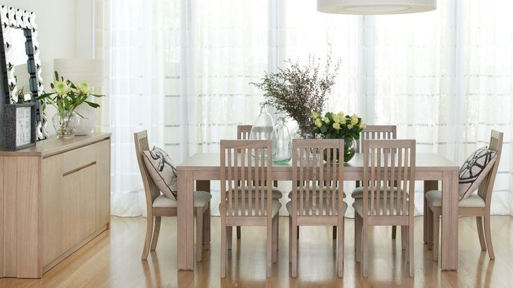 Preston 9 piece dining suite dining furniture dining for Dining room tables harvey norman