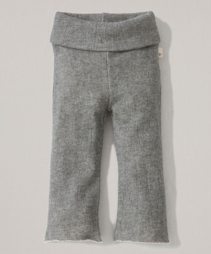Heather Gray Terry Organic Yoga Pants - Infant, Toddler & Girls by Burt's Bees Baby #zulily #zulilyfinds
