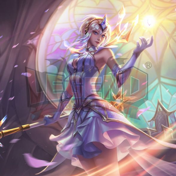 >> Click to Buy << Cosplay legend pre-order 2017 LOL Luxanna Crownguard the Lady of Luminosity Lux Light Dress cosplay costume #Affiliate
