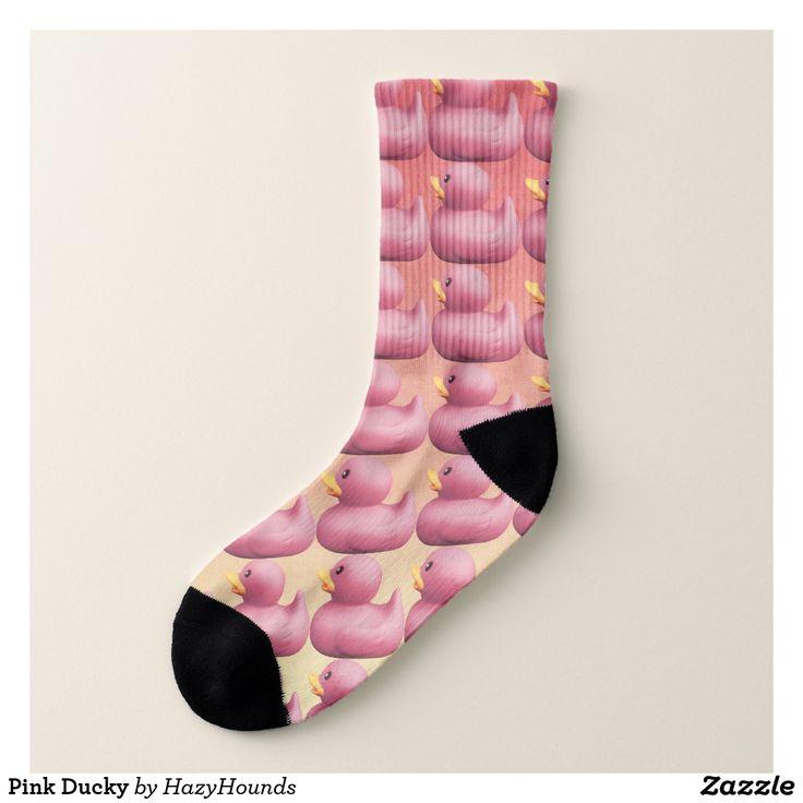 Pink Ducky Socks