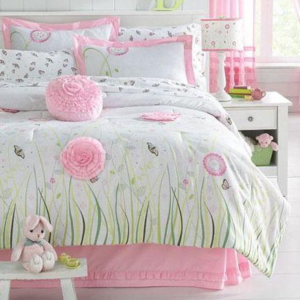 Whole Home Kids Tm Mc Butterfly Garden Duvet Cover Set