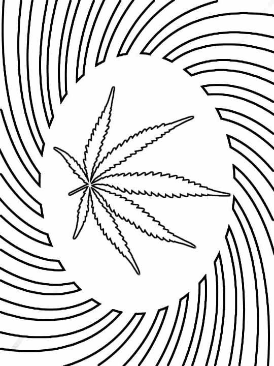 73 best coloring pages images on pinterest colouring for Coloring pages weed
