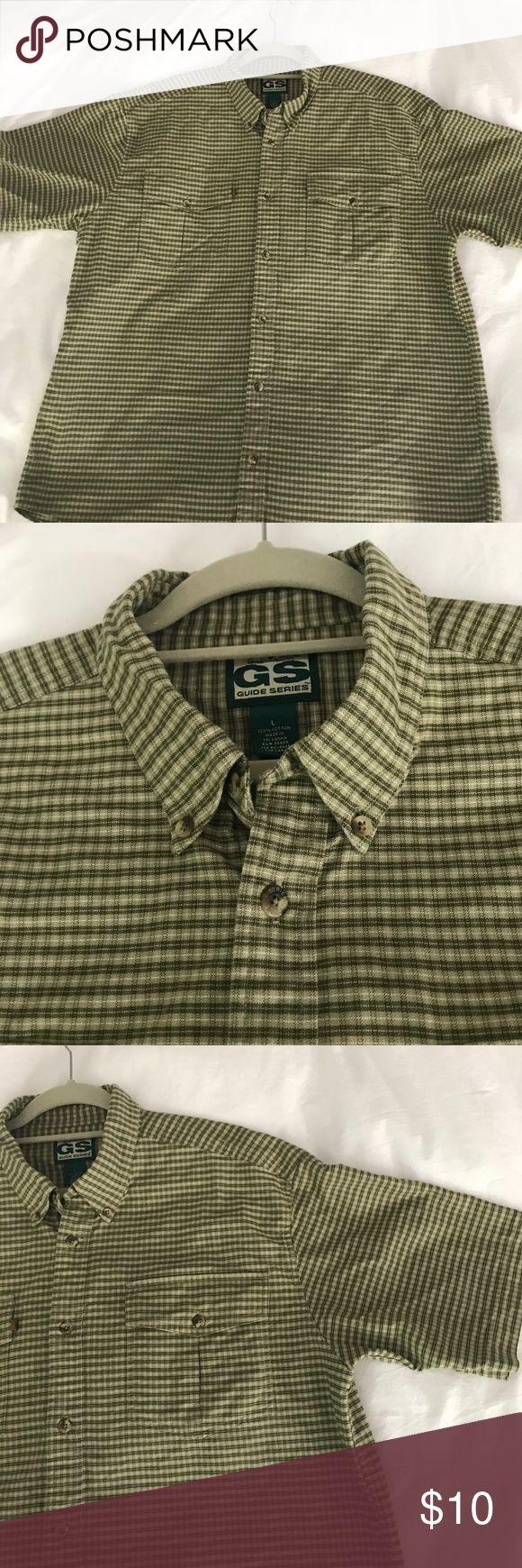Gander Mountain Plaid Shirt 100% cotton. Great condition. Shirts Casual Button Down Shirts