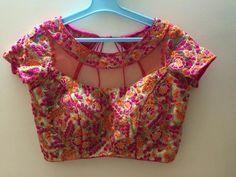 party saree blouse design