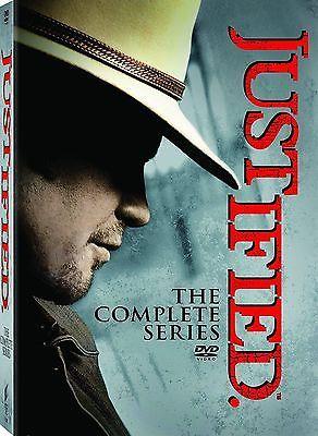 Justified Complete Series Box Set Season 1-6 DVD Free Shipping