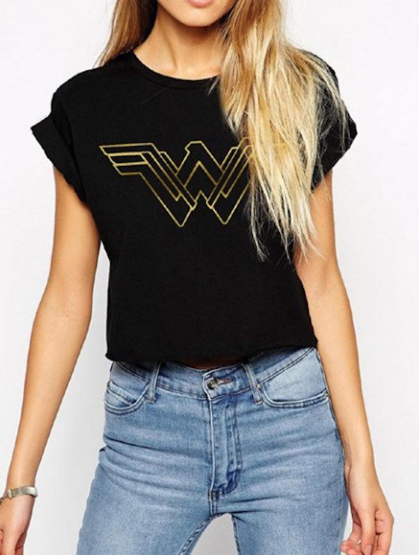 Glorious BvS Wonder Woman T-Shirts Are Here