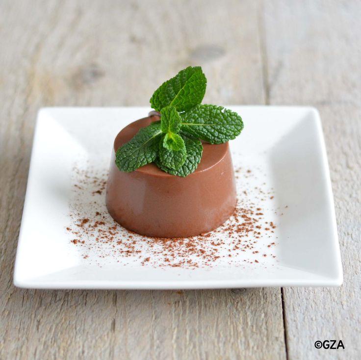 Chocolade pudding. #glutenvrij #lactosevrij #koemelkvrij #sojavrij #fructosearm