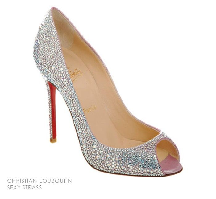 christian louboutin wedding shoes size 12