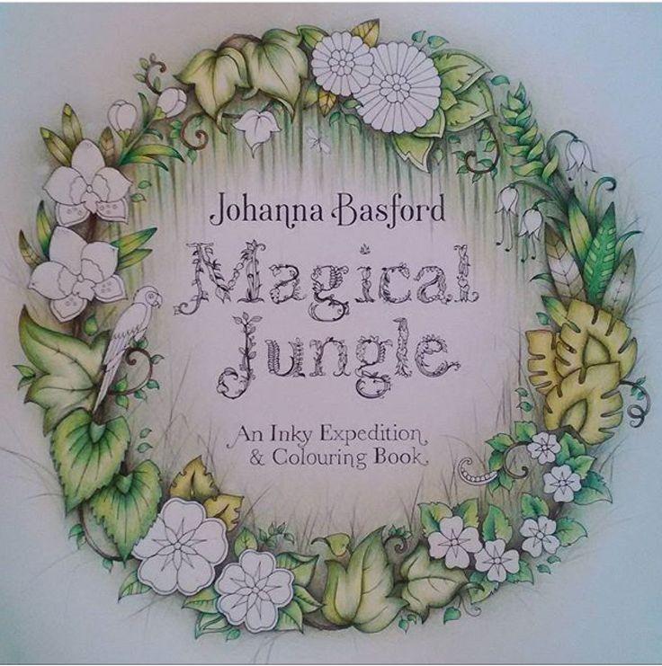 161 Best Adult ColoringMagic Jungle Images On Pinterest
