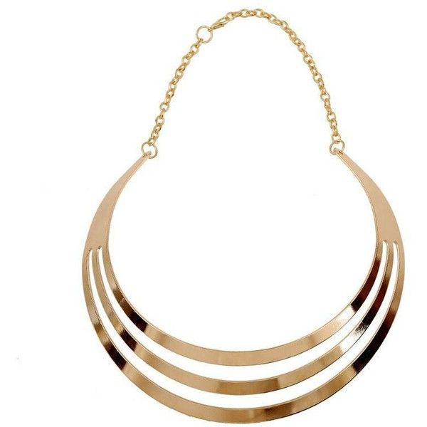 Yoins Yoins Gold Collar Necklace ($4.12) ❤ liked on Polyvore featuring jewelry, necklaces, accessories, jewels, gold, yellow gold necklace, jewel necklace, gold necklaces, gold jewelry and gold jewellery