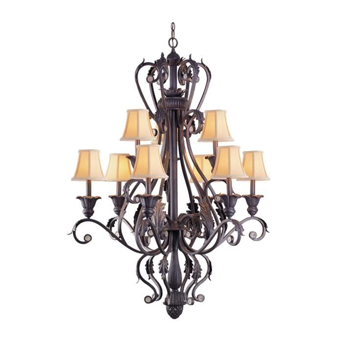 Winslow 9 light chandelier nebraska furniture mart 919 46 height and 34 width