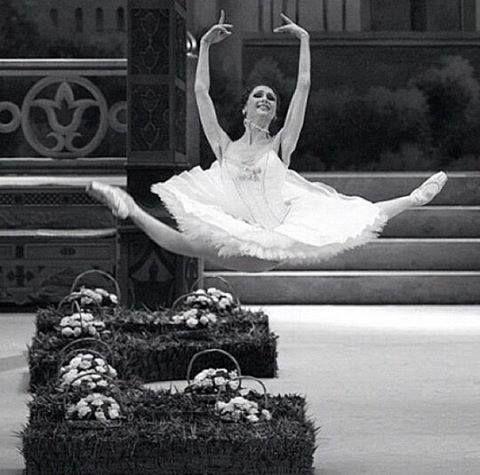 "<<Svetlana Zakharova as Medora in ""Le Corsaire"" >>"