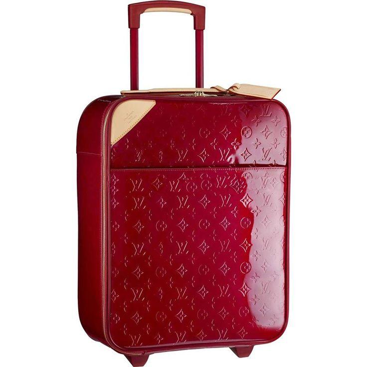 Louis Vuitton Pegase 50 Red M91991