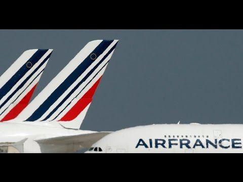 Pilotos de la aerolínea Air France comienzan una huelga