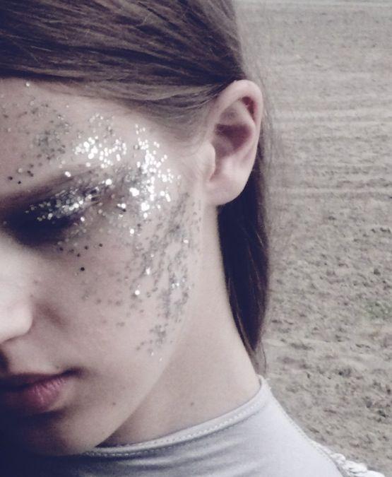 """endless summer"" makeup by alja susnik, photographed by spela kasal."