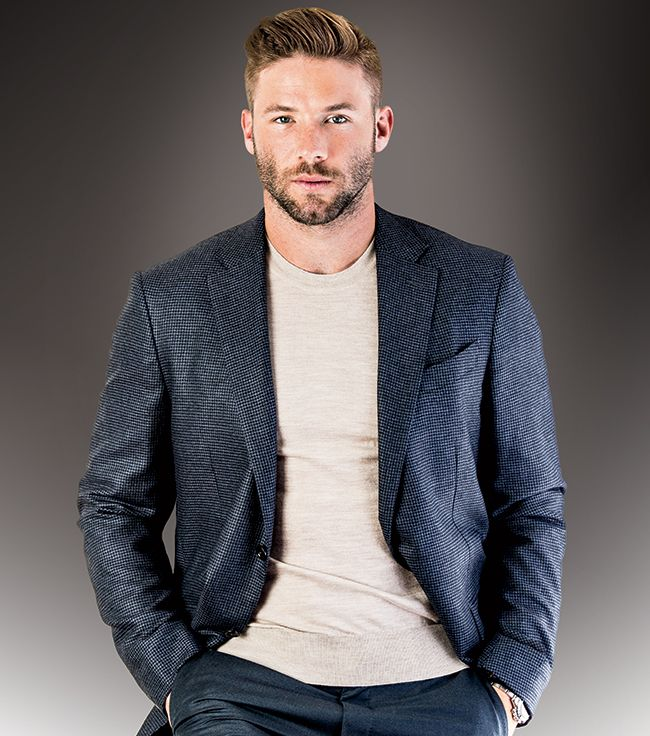 Everything you need to know about Patriots star receiver Julian Edelman can be summed up in 10 seconds. Description from bostoncommon-magazine.com. I searched for this on bing.com/images